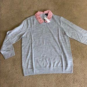 J crew size large sweater
